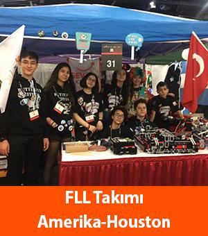 FLL Takımı Amerika-Houston