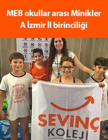 MEB okullar arası Minikler A İzmir İl birinciliği